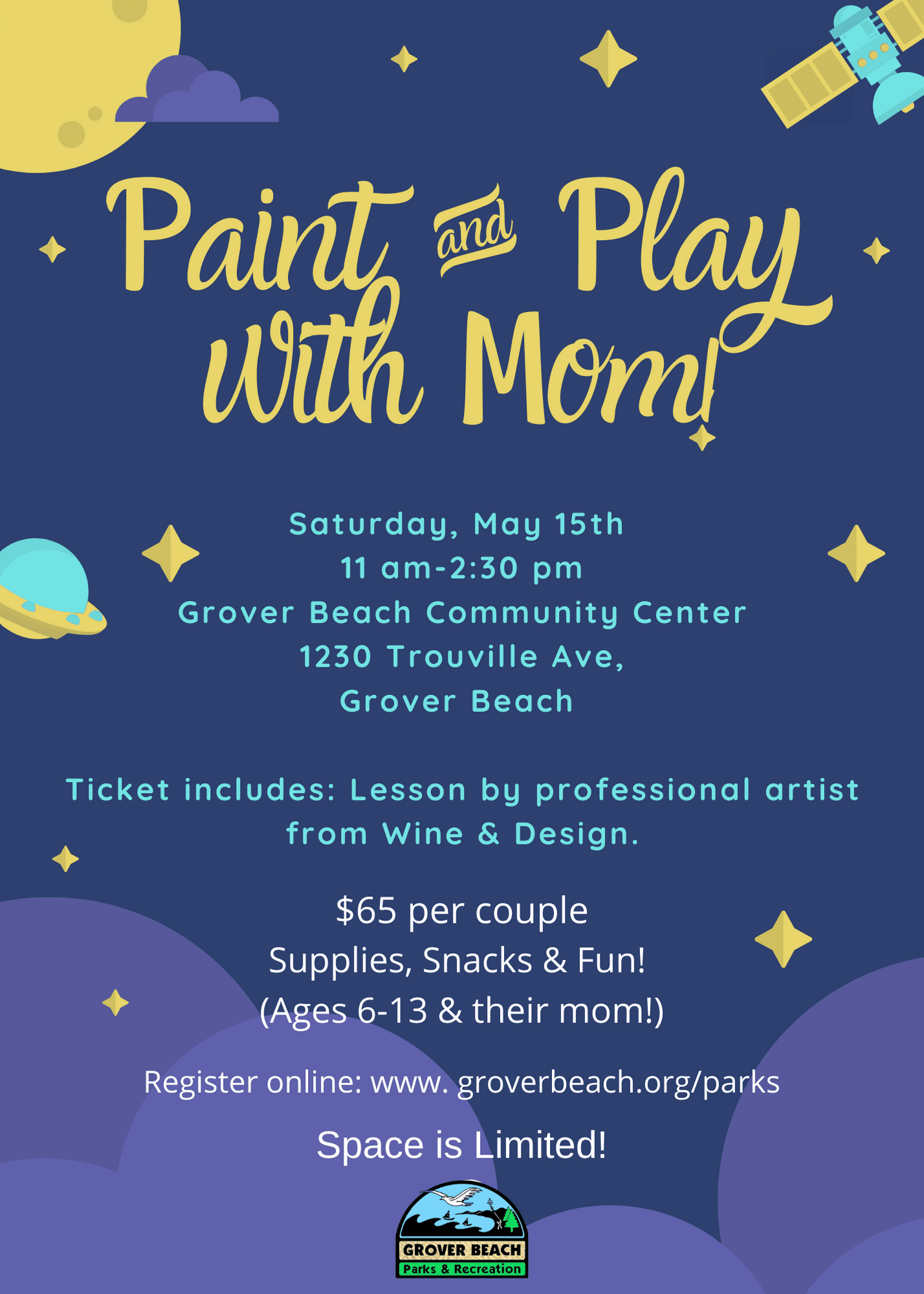 Paint and Play with mom